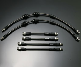 Gruppe M Brake Lines System - Front and Rear (Carbon Steel) for Mercedes C-Class C205