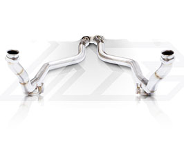 Fi Exhaust Sport Cat Pipes - 200 Cell (Stainless) for Mercedes C-Class W204