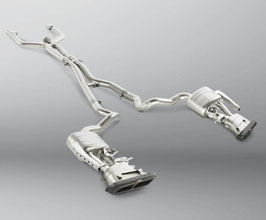 Akrapovic Evolution Line Catback Exhaust System with Link Pipe Set (Titanium) for Mercedes C-Class W205
