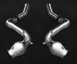 Capristo Cat Delete Downpipes (Stainless) for Mercedes C-Class W205
