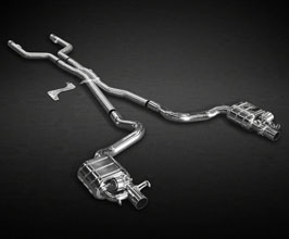 Capristo Valved Catback Exhaust System with Mid Pipes (Stainless) for Mercedes C-Class W205