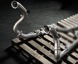 Fi Exhaust Ultra High Flow Down Pipes (Titanium) for Mercedes C-Class W205