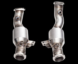 iPE Exhaust High Flow Cat Pipes (Stainless) for Mercedes C-Class W205