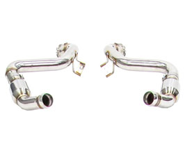 iPE Exhaust Front Pipes with Cat Bypass Pipes (Stainless) for Mercedes C-Class W205