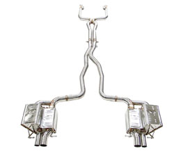 iPE Exhaust Valvetronic Catback Exhaust System with Electronic Valves (Stainless) for Mercedes C-Class W205