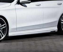 Mz Speed Prussian Blue Aero Side Steps for Mercedes C-Class W205