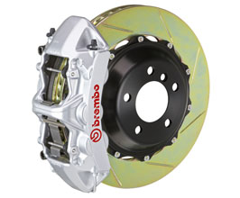 Brembo Gran Turismo Brake System - Front 6POT with 380x34mm 2-Piece Slotted Rotors for Mercedes C-Class W205