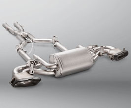 Akrapovic Evolution Line Exhaust System with X-Pipe (Titanium) for Mercedes GT C190