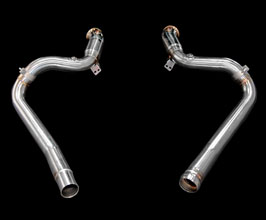 iPE Exhaust Cat By-Pass Pipes (Stainless) for Mercedes GT C190