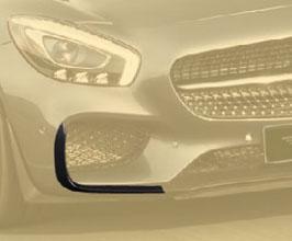 MANSORY Aero Front Bumper Vent Garnishes (Carbon Fiber) for Mercedes GT C190