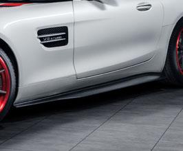 RENNtech Aero Side Skirt Rocker Panels (Carbon Fiber) for Mercedes GT C190