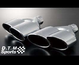 WALD DTM Sports Muffler Cutter Exhaust Tips