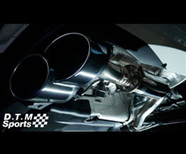 WALD DTM Sports Exhaust Muffler Section (Stainless) for Mercedes S-Class W222