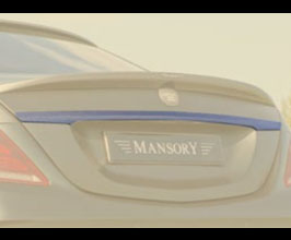 MANSORY Aero Rear Trunk Bar (Carbon Fiber) for Mercedes S-Class W222