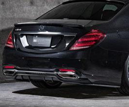 Mz Speed Prussian Blue Aero Rear under Spoiler for Mercedes S-Class W222