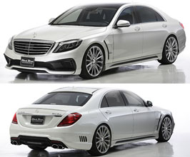 WALD Sports Line Black Bison Edition Aero Body Kit for Mercedes S-Class W222