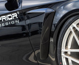 PRIOR Design PD800 Aerodynamic Front Fender Add-On Trim (FRP) for Mercedes S-Class W222