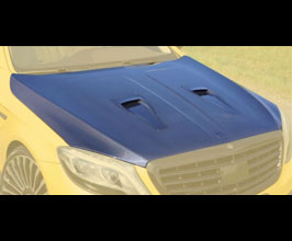 MANSORY Aero Front Hood Bonnet Type II with Air Intakes for Mercedes S-Class W222