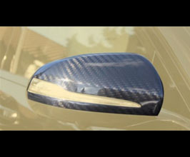 MANSORY Aero Mirror Housing Covers - LHD (Carbon Fiber) for Mercedes S-Class W222