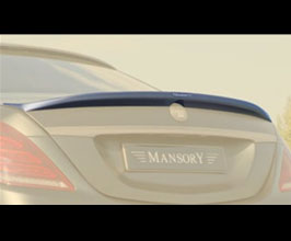 MANSORY Aero Rear Deck Lid Spoiler - Type I for Mercedes S-Class W222