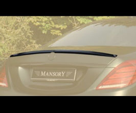 MANSORY Aero Rear Deck Lid Spoiler - Soft for Mercedes S-Class W222