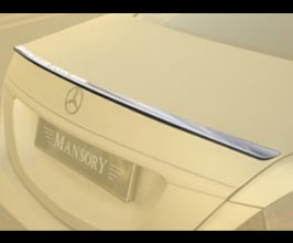 MANSORY Aero Rear Deck Lid Spoiler - Thin for Mercedes S-Class W222