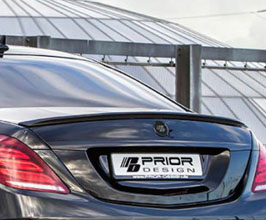 PRIOR Design PD800 Aerodynamic Rear Trunk Spoiler (FRP) for Mercedes S-Class W222