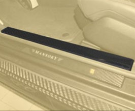 MANSORY Entrance Door Sill Panels - Short for Mercedes S-Class W222