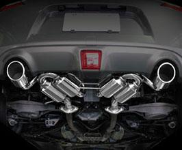 Suruga Speed PFS Bridge Loop Sound Muffler Exhaust System (Stainless)