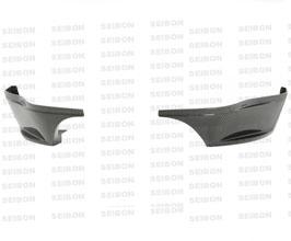 Seibon Rear Lip (Carbon Fiber)
