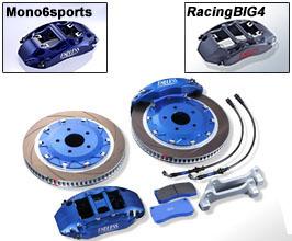 Endless Brake Caliper Kit - Front MONO6Sports 370mm and Rear RacingBIG4 355mm