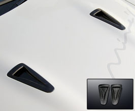 Mines Air Intake Hood Ducts (Carbon Fiber)
