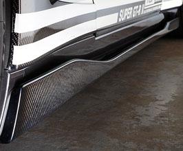 TOP SECRET Version 1 Aero Side Diffusers (Carbon Fiber)