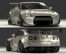 TRA KYOTO Co Rocket Bunny Wide Body Kit with Wing (FRP)