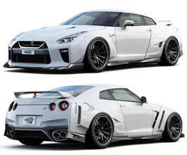 GReddy Front and Rear Over Fender Sets (FRP)