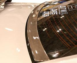 Do-Luck Rear Lower Window Deflector Spoiler (Carbon Fiber)