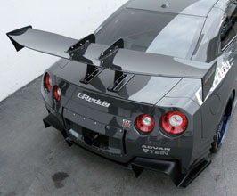VOLTEX Type 7.5 1700mm GT Wing with Vehicle Specific Swan Mounts (Carbon Fiber)