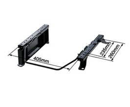 Bride Type-RK Seat Rails for STRADIA II Reclining Seats - Passenger Side
