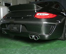 Carbon Dry Performance Rear Bumper