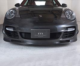 Carbon Dry Performance Front Bumper (Dry Carbon Fiber)