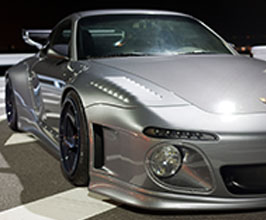 Old and New Conversion Body Wide Body Kit