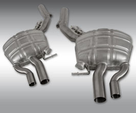 SPOFEC Power Optimized Exhaust System with Flap-Regulation (Stainless)