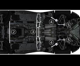 Bracing for Lexus LC 1