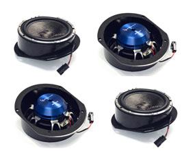Light Harmonic S4D Premium Door Speakers - Updated Version (Carbon Fiber)