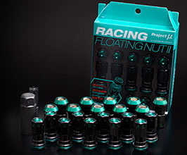 Project Mu Racing Floating Nut II Lug Nuts -  M12x1.25 (Chrome Molybdenum Steel)